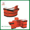 Checkout Counter with Conveyor Belt, Electric Checkout Counter