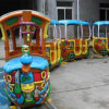 Outdoor Extreme Amusement Park Charming Track Train