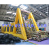 Customized Inflatable Mobile Zip Line Manufacturer/Large Inflatable Zip Line