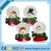 Christmas Deco Snowman Inside Resin Snow Globe