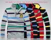 Men′s Stripe Cardigan Sweater (MY007)