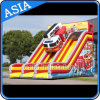 Giant Inflatable Fire Truck Slide for Children Party and Holiday