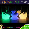 Color Charging Rechargeable LED Outdoor Furnitre LED Sofa