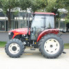 Chinese Brand Wheel Farm Tractor with 100HP Engine