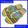 Colorful Hot PE Fashion Slipper for Women (MT14010-Green)