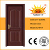 Cheap Price Interior Solid Wood Door Design (SC-W114)