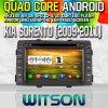 Witson S160 Car DVD GPS Player KIA Sorento (2009-2011) with Rk3188 Quad Core HD 1024X600 Screen 16GB Flash 1080P WiFi 3G Front DVR DVB-T Mirror-Link (W2-M041)