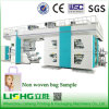 4 Colors Fabric Central Drum Flexographic Printing Machine