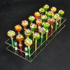21 Hole Acrylic Cake Pop Lollipop Clear Display Stand