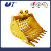 Crawler Excavator Spare Parts Skeleton Sieve Bucket