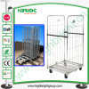 Zinc Cold Steel Folding Roll Trolley