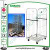 Zinc Cold Steel Folding Roll Trolley
