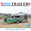 Heavy Duty Rear Open Camper Trailer