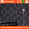 Decorative Material Black Wallpaper with Ink Foaming