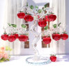 Cheap Crystal Apple Tree with Personalized Logo for Wedding Favor
