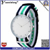 Yxl-214 2017 New Fashion Diamond Watch Elegant Ladies Nylon Nato Strap Watch Wrist Lady Vogue Dress Watches