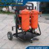 25L/Min High Precision Small Used Hydraulic Oil Purifier Machine