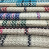 Light Colors Check Wool Fabric for Overcoat