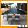 New Design Leisure Garden Outdoor Bistro Set Furniture Aluminum Modern Waterproof Table and Chairs