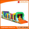 Outdoor Giant Inflatable Jungle Obstacle Playground (T8-457)