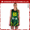 Professional Fitness Sublimation Printed Ladies Netball Uniforms Dress (ELTNBJ-69)
