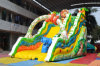 Peaceful Animals Theme Inflatable Dry Slide for Zoos (CHSL640)