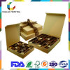 Luxury Chocolate Packaging Box with Grid Inlay