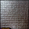 Grid Grain Synthetic PVC Leather for Shoes Boots Decoration Hw-762