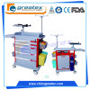 The 2017 Newest Design Colourful Emergency Trolley with United ABS Rail Guard
