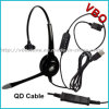 VoIP Call Center Telecommunication Monaural USB Headset