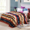 Hot Sale Super Soft Printed Flannel Blanket Coral Fleece Blanket (SR-B170318-5)