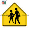 Safety Warning Traffic Sign Irregular Aluminum Plate Traffic Road Signs