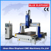 Ele-1530 4 Axis 3D Carving CNC Router with Rotary Device in China