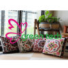 2015 New Embroidery Cotton Pillow Creative Decoration for Home Sofa