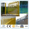 Powder Coated Galvanized Bow Roll Top Railing Fence