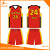 Healong Digitally Printed Pattern Wholesale Basketball Jersey
