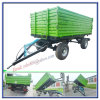 Tractor Mounted Farm Trailer 3 Side Dumping