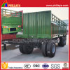 2 Axles 8 Tires Agricultural Products Transport Full Trailer