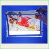 CNC Engraving Acrylic LED Backlit Slim Light Box for Adbertisement