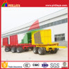 4 Axles Truck Full Flatbed Drawbar Trailer on Sale