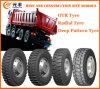 Radial OTR Tyre, Deep Pattern Tyre (12.00R24, 12.00R20, 11.00R20)