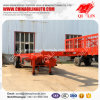 Low Price Tri-Axle 30FT Frame Skeletal Flatbed Container Tow Truck