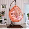 Pink Factory Outdoor Swing, Rattan Furniture, Indoor Egg Hanging Chair (D011)