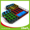 Launch Rectangular Trampoline Park Rectangle Trampoline with CE Approved