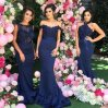 New Fashion Custom Made Sequins Beaded Evening Party Dress