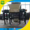 Plastic/Rubber/Drum/ Wood/ Tyre/Film/Lumps/Jumbo/ Woven Bags with Double Shaft Shredder