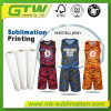 "100GSM 63"" Adhesive Sublimation Transfer Paper for Sportswear"