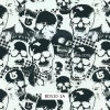 Skull Pattern Water Transfer, Hydrographics Printing, Liquid Image, PVA Films for Outdoor Items and Motorbike (BDS10-1A)