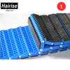 Anti-Skid Patented Plastic Moduladr Conveyor Belt with Rubber Pad