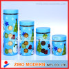 Christmas Theme Stainless Steel Jar with Metal Lid